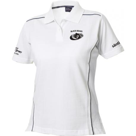 Black Bears Poloshirt mit Clublogo - Damen