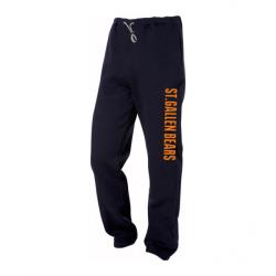 St.Gallen Bears Trainerhose - Schriftzug Orange