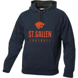 St.Gallen Bears Pullover mit Schriftzug dunkelblau