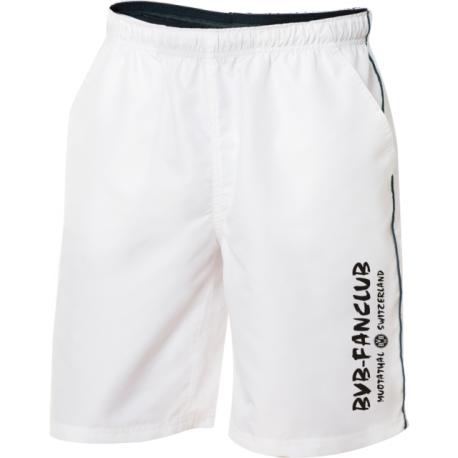 BVB-Fanclub Shorts mit Schriftzug vertikal