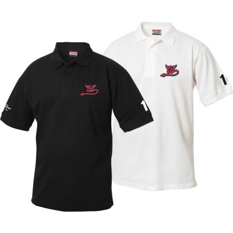 Wil Devils Poloshirt mit Clublogo - Herren