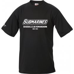 Baseballclub Romanshorn Submarines T-Shirt mit Schriftzug 2-farbig - Kinder