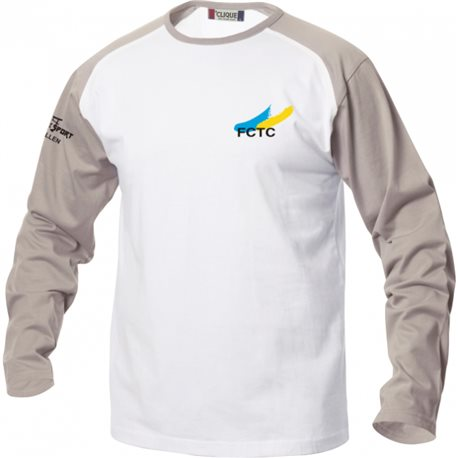 FC Thusis/Cazis langarm Shirtmit Clublogo