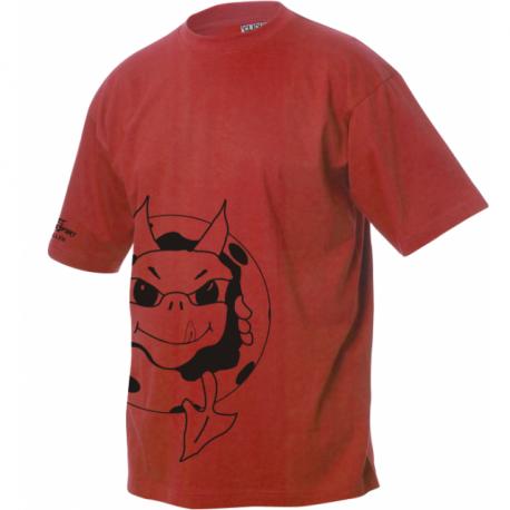 Ruinaulta Devils Valendas T-Shirt mit Logo schräg