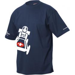 IG LO Seifenkisten Derby T-Shirt mit Clublogo schräg