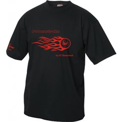 FC Bazenheid T-Shirt mit Flammenball