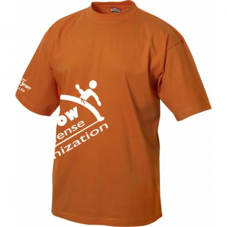 Rainbow T-Shirt mit Clublogo schräg