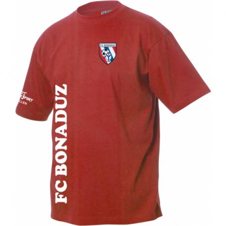 FC Bonaduz T-Shirt mit Logo und Schrifzug