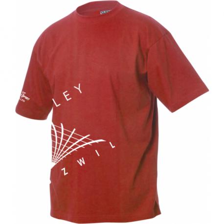Volley Uzwil T-Shirt mit Logo schräg