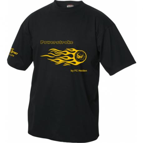 FC Heiden T-Shirt mit flammenball