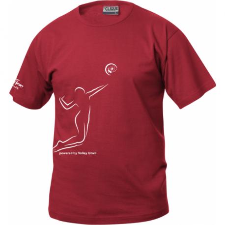 Volley Uzwil T-Shirt mit Spiel