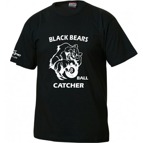 Black Bears T-Shirt mit Ballcatcher