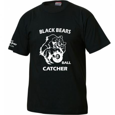 Black Bears T-Shirt mit Ballcatcher
