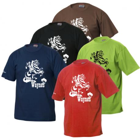 Waynes Buchs ZH T-Shirt mit Cowboy 1