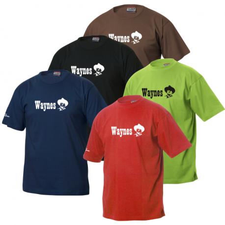 Waynes Buchs ZH T-Shirt mit Schriftzug & Kopf