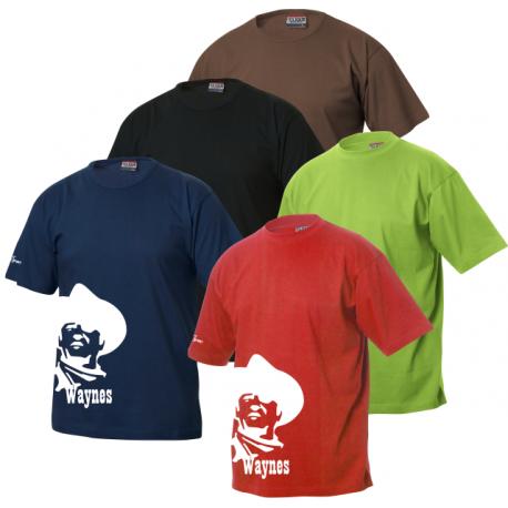 Waynes Buchs ZH T-Shirt mit Waynes Kopf