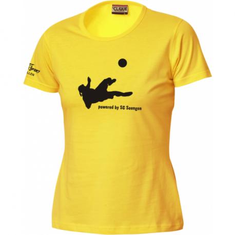 SC Seengen T-Shirt mit Torjägerin