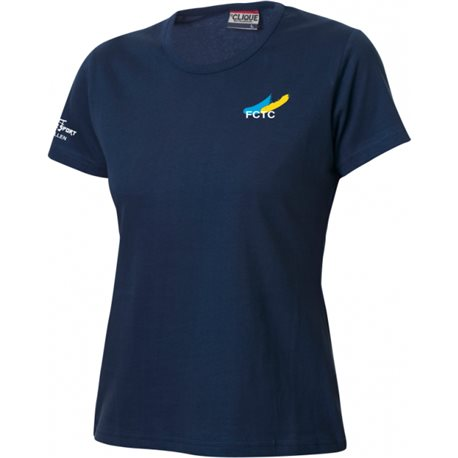 FC Thusis/Cazis T-Shirt mit Clublogo Damen