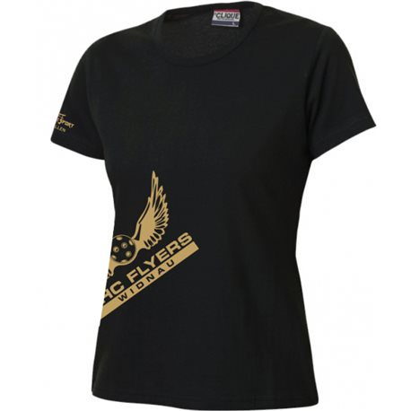 UHC Flyers Widnau T-Shirt mit Clublogo schräg