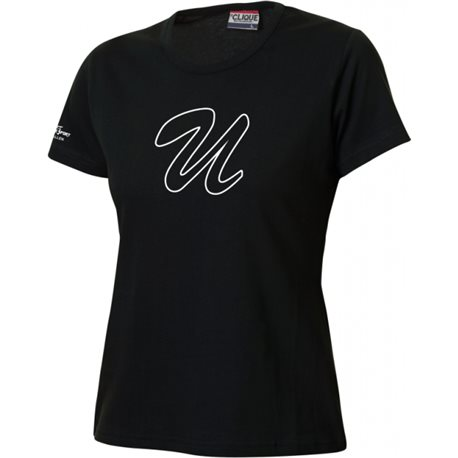"Unicorns Baseballclub T-Shirt mit grossem ""U"" Zeichen - Damen"