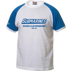 Baseballclub Romanshorn Submarines T-Shirt mit Schriftzug - Erwachsene