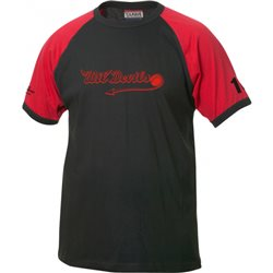 Wil Devils T-Shirt mit Clubschrift
