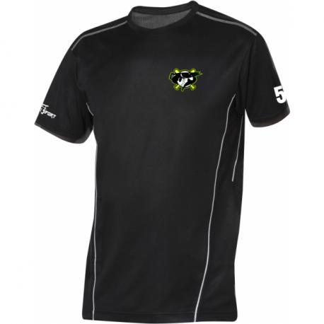 Barracudas Zürich Trainings T-Shirt  mit Clublogo und Nr