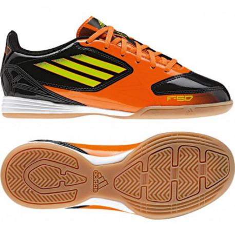 Adidas F10 IN JR Schwarz/Orange