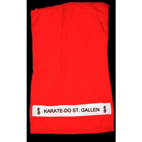 Dusch- und Handtuch rot Karate-Do SG