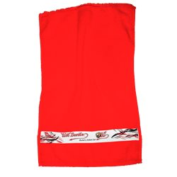 Wil Devils Dusch- und Handtuch - Rot