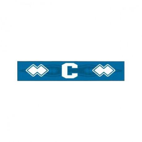 Errea Erwachsen Captain Armband mit Bändel blau
