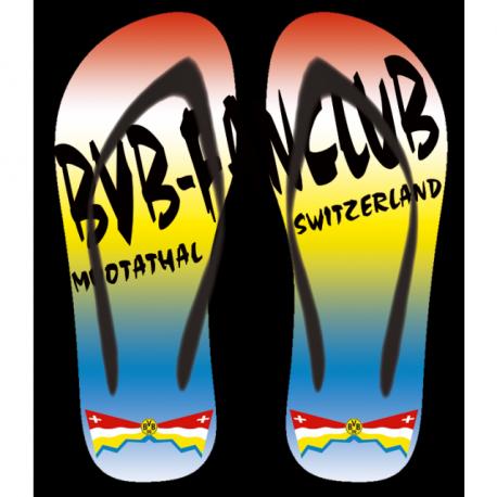 Flip-Flop BVB-Fanclub Muotathal