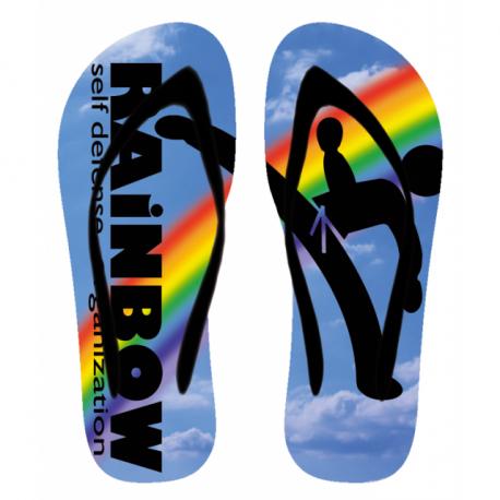 Flip-Flop Rainbow Self Defense