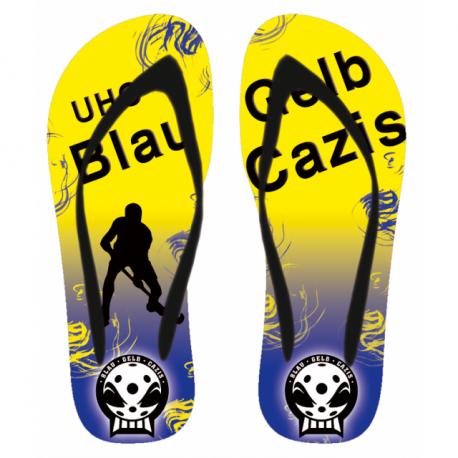 Flip-Flop UHC Blau Gelb Cazis