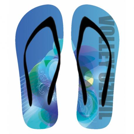 Flip-Flop Volley Uzwil blau