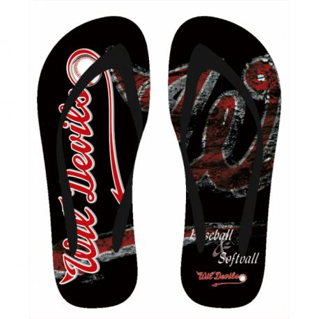 Wil Devils Flip-Flops - Sujet: A