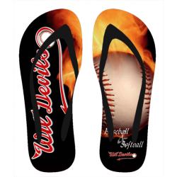 Wil Devils Flip-Flops - Sujet: B