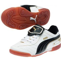 PUMA Esito Finale IT Jr Indoor white-black-gold
