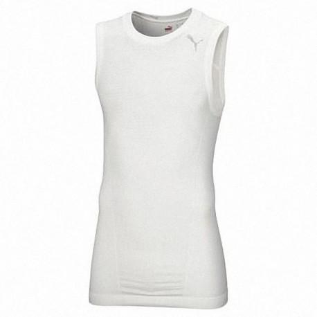 Puma ärmelloses Shirt weiss