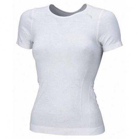 Puma kurzarm Shirt Damen weiss