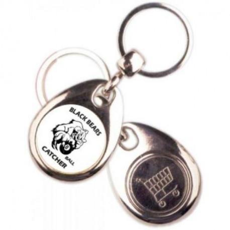 Schlüsselanhänger Black Bears Bär und Ball