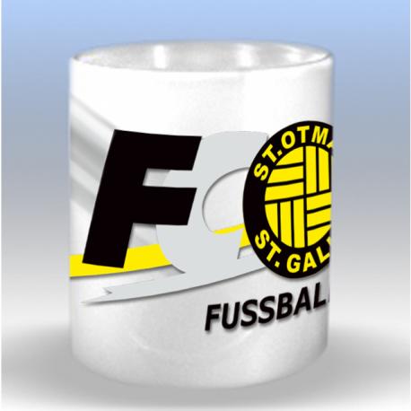 Tasse mit FC St.Otmar Clublogo
