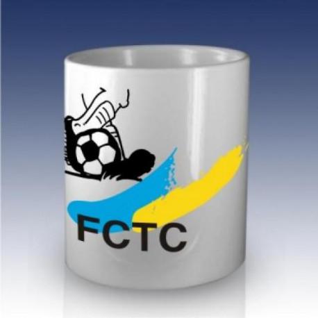Tasse mit FC Thusis/Cazis Logo und Ball