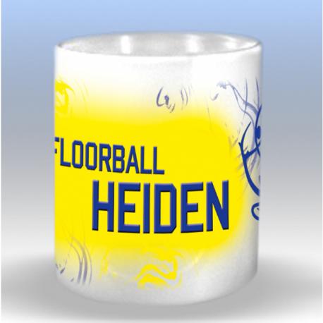 Tasse mit Floorball Heiden
