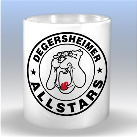 Tasse UHC Degersheimer Allstars mit Clublogo