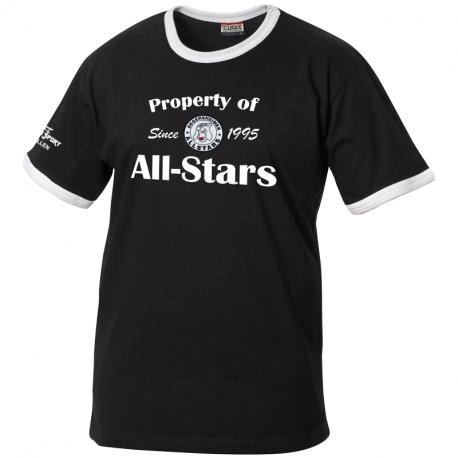UHC Degersheimer All-Stars NOME T-Shirt mit Text und gewobenem Clublogo