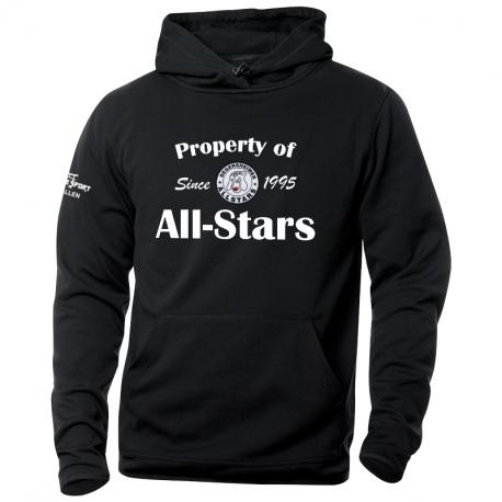 UHC Degersheimer All-Stars DANVILLE Kapuzensweater mit Text und gewobenem Clublogo