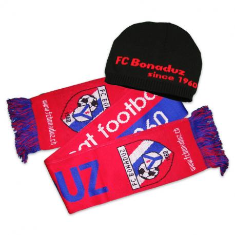 FC Bonaduz Wintermütze und Schal Aktionspaket