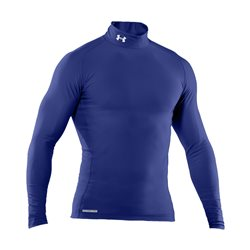 Under Armour EVO Coldgear Compression Mock - Royal