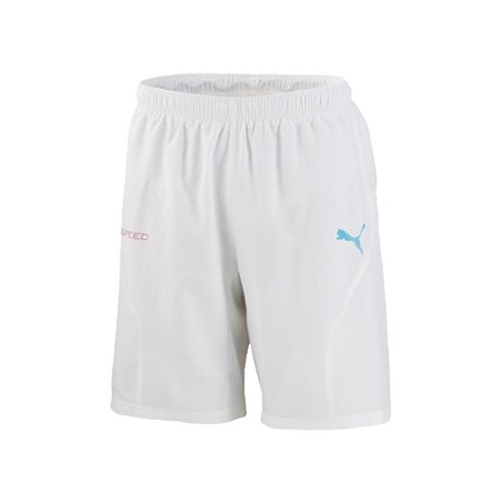 PUMA Evo Speed Woven Short IT Hose kurz Weiss F06
